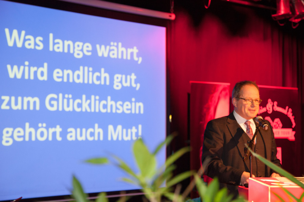 Festredner Professor Klaus Heying
